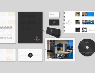 corporate identity značky Luxfeel