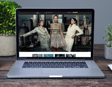 e-shop luxusní designové módy