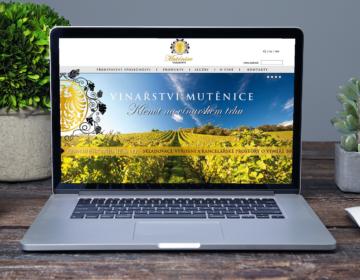 web a firemní identita pro vinařství