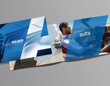 grafika brožury  AAA auto