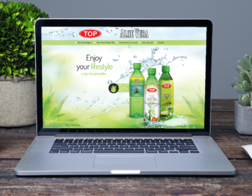 web pro produkty Top Aloe Vera