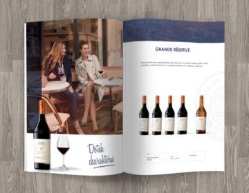luxusní grafika katalogu