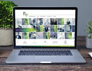 webová stránka personální agentury FLS One