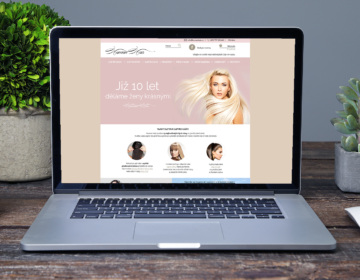 grafika pro e-shop s vlasovými příčesky