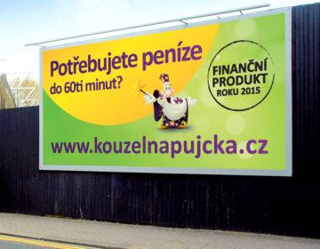 grafika billboardu Kouzelná půjčka