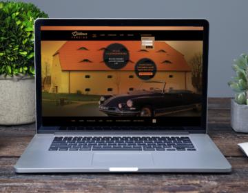 Web pro parkoviště veteránů Oldtimer parking